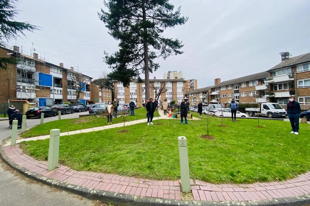 Stoford Close leaseholders. Picture: Alexandre Claudon