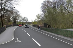 Controversial Bishopsford Road Bridge Design Approved