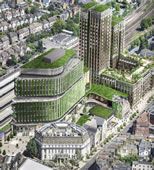 High Rise Vision For Wimbledon Centre Court Shopping Centre Site