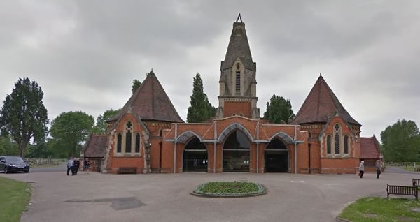 North East Surrey Crematorium in Morden