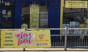 LoveLocal In Wimbledon As Shops Re-Open For Business