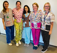 Costume Makers Brighten Up Merton Park GPs With Unique Scrubs
